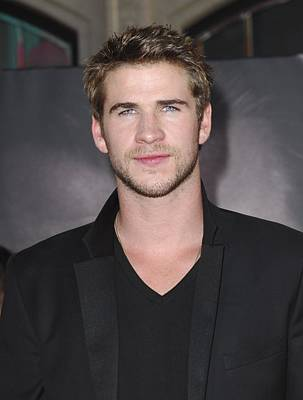 Liam Hemsworth At Arrivals For Thor Poster by Everett