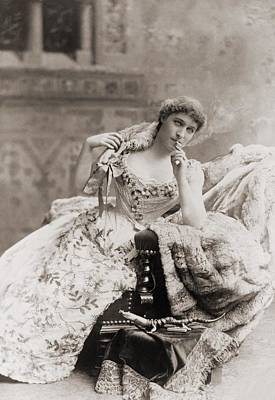 Lillie Langtry 1853-1929, English Poster by Everett