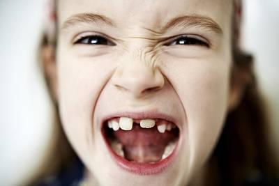 Loss Of Milk Teeth Poster by Ian Boddy