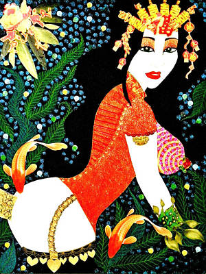 Ma Belle Salope Chinoise No.15 Poster by Dulcie Dee