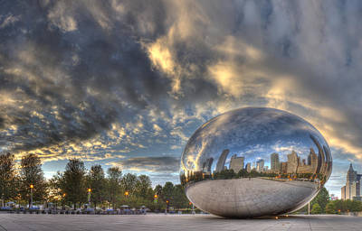 Millennium Park Poster by Twenty Two North Photography