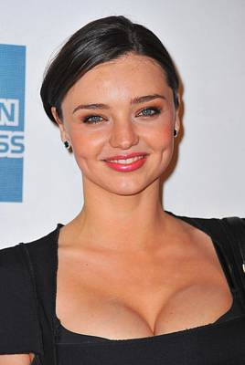 Miranda Kerr At Arrivals For The Good Poster by Everett