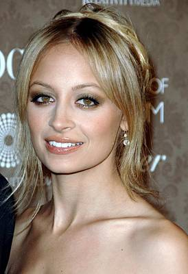 Nicole Richie At Arrivals For The Art Poster by Everett