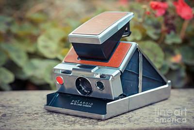 Old Vintage Camera Poster by Sabino Parente