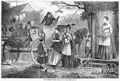 Peddlers Wagon, 1868 Poster by Granger