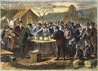 Pennsylvania: Voting, 1872 Poster by Granger
