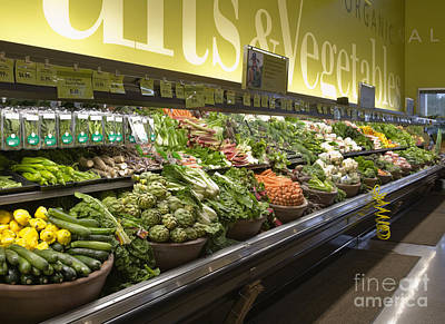 Produce Aisle Poster by Andersen Ross