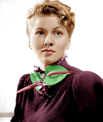 Rebecca, Joan Fontaine, 1940 Poster by Everett