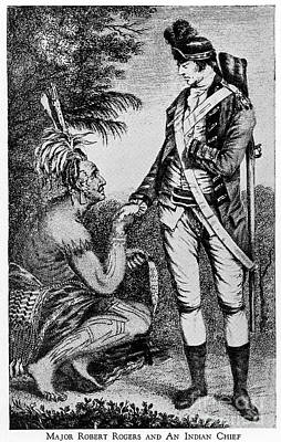Robert Rogers (1731-1795) Poster by Granger