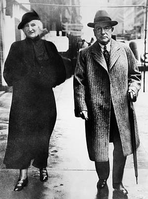 Rockefeller Family. From Left Abby Poster by Everett