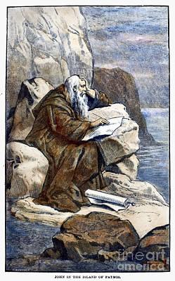 Saint John The Evangelist Poster by Granger