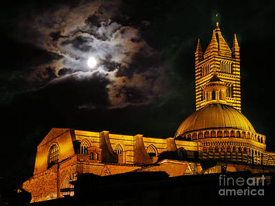 Siena Cathedral Poster by Jim Wright