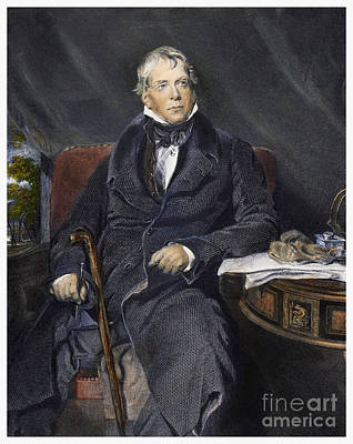 Sir Walter Scott Poster by Granger