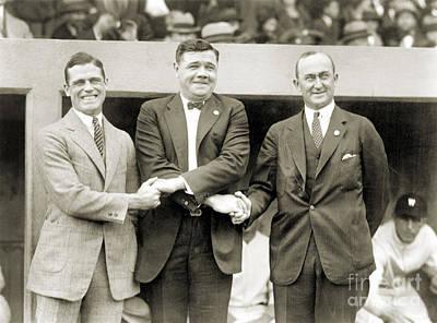 Sisler, Ruth & Cobb, 1924 Poster by Granger