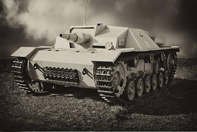 Tank Poster by Igor Sinitsyn