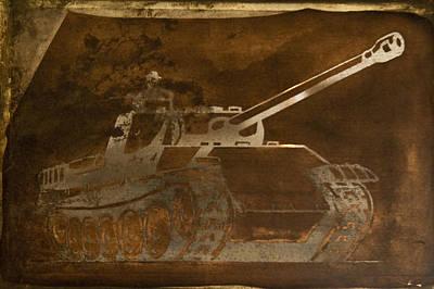 Tank Poster by Matthew Saindon