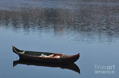 The Boat Poster by Armando Carlos Ferreira Palhau