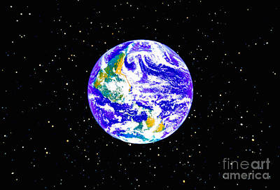 The Earth Poster by Stocktrek Images
