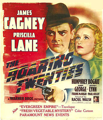 The Roaring Twenties, James Cagney Poster by Everett