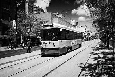 Toronto Transit System Ttc Tram Ontario Canada Poster by Joe Fox