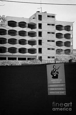 Varosha Forbidden Zone With Hotels Abandoned In 1974 Due To The Turkish Invasion Famagusta Poster by Joe Fox