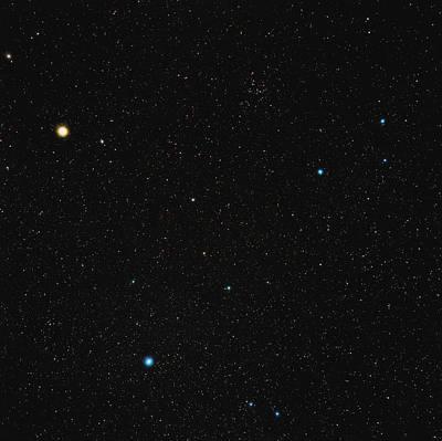 Virgo Constellation Poster by Eckhard Slawik