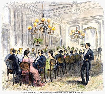 White House: State Dinner Poster by Granger