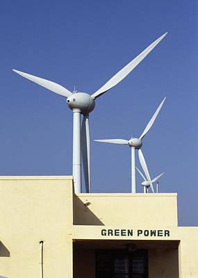 Wind Farm Poster by Volker Steger