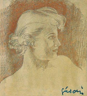 Woman Portrait Poster by Odon Czintos