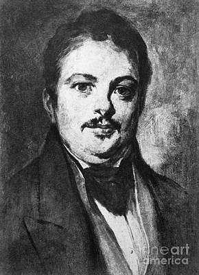 Honore De Balzac (1799-1850) Poster by Granger