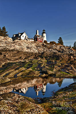 Pemaquid Point Lighthouse Poster by John Greim