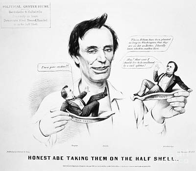Presidential Campaign, 1860 Poster by Granger