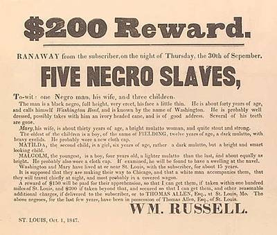 1847 Advertisement For The Return Poster by Everett