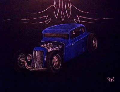 1932 Ford Hotrod Poster by Stanley Whitehouse