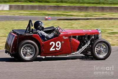 1949 Mg Tc Special Poster by John Buxton