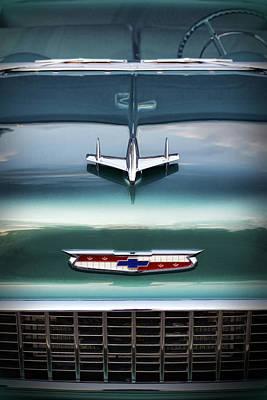 1955 Chevy Bel Air Poster by Gordon Dean II