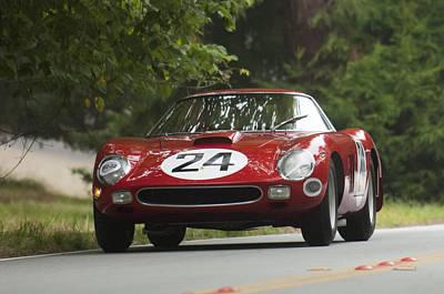 1964 Ferrari 250 Gto 64 Scaglietti Berlinette Poster by Jill Reger