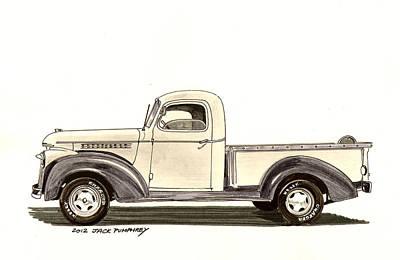 1946 Chevrolet Pick Up Poster by Jack Pumphrey