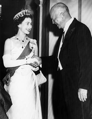 British Royalty. Queen Elizabeth II Poster by Everett