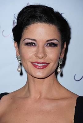 Catherine Zeta-jones At The After-party Poster by Everett