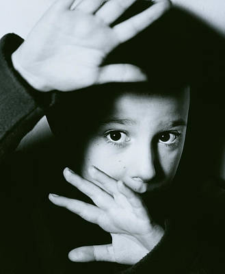 Child Abuse Poster by Mauro Fermariello