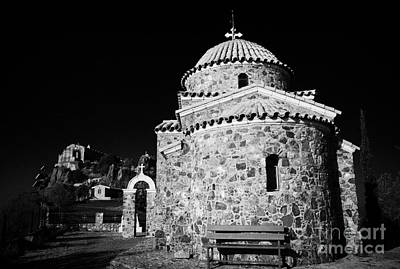Church Of The All Saints Of Cyprus At The Stavrovouni Monastery Republic Of Cyprus Europe Poster by Joe Fox