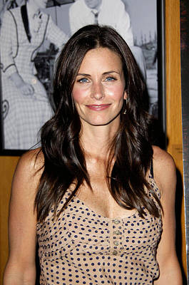 Courteney Cox Arquette At Arrivals Poster by Everett