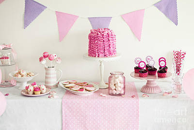 Dessert Table Poster by Ruth Black