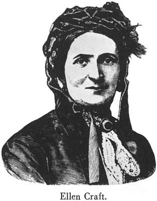 Ellen Craft (b.1826) Poster by Granger