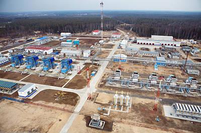 Gas Fuel Compressor Plant Poster by Ria Novosti