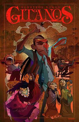 Gitanos  Poster by Nelson Dedos Garcia