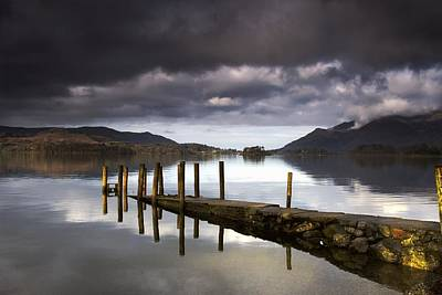 Lake Derwent, Cumbria, England Poster by John Short