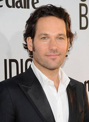 Paul Rudd At Arrivals For Our Idiot Poster by Everett