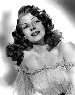 Rita Hayworth, Portrait Poster by Everett